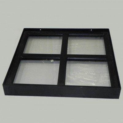Afbeelding 3 van Azalp Stalen raam vast, 400x400 mm
