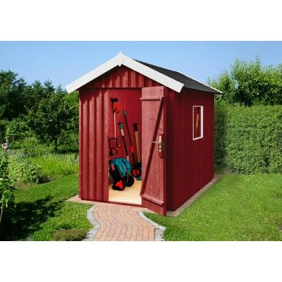 Hoofdafbeelding van Weka Zweeds huis 348 Gr. 2 Zweeds rood