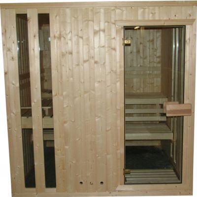 Afbeelding 3 van Azalp massieve sauna Alku 194x161 cm, 40 mm