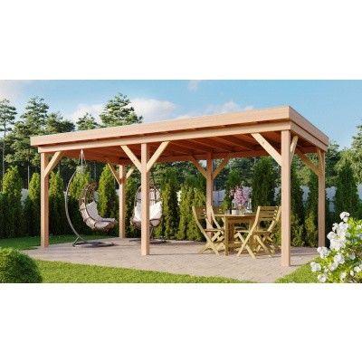 Hauptbild von WoodAcademy Duke Douglasie Gartenlaube 680x300 cm