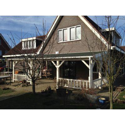 Afbeelding 11 van Azalp Houten veranda 400x400 cm
