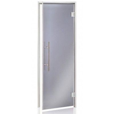 Hoofdafbeelding van Hot Orange Stoombad deur Au Lux 80x190 cm, grijs