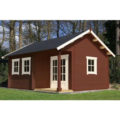 Bild 11 von Azalp Blockhaus Kinross 450x400 cm, 30 mm