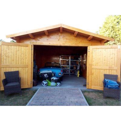 Afbeelding 35 van Azalp Garage Thijs 380x700 cm, 60 mm