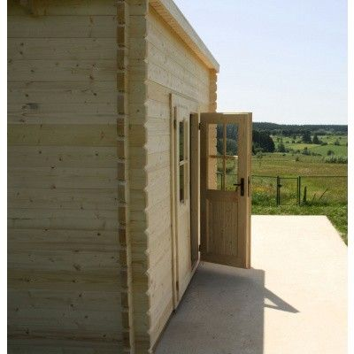Bild 15 von Azalp Blockhaus Steven 400x400 cm, 45 mm