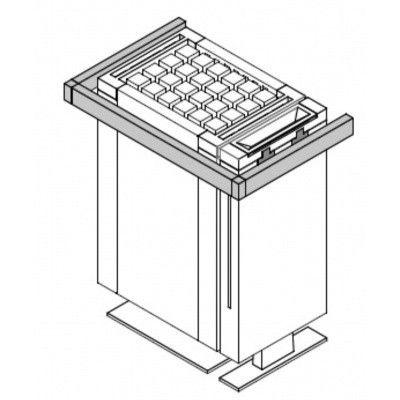 Hoofdafbeelding van EOS Mythos S45 ovenbeschermrand (94.5656)*