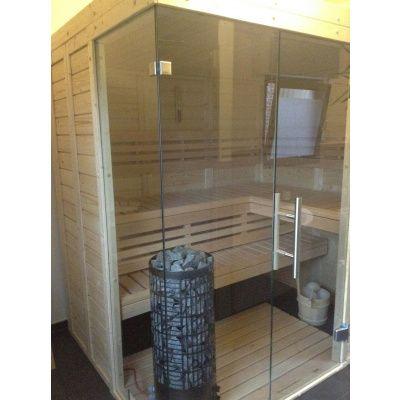 Afbeelding 25 van Azalp Sauna Luja 180x190 cm, 45 mm