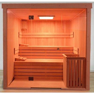 Afbeelding 43 van Azalp Sauna rugleuning Lumen, Elzen