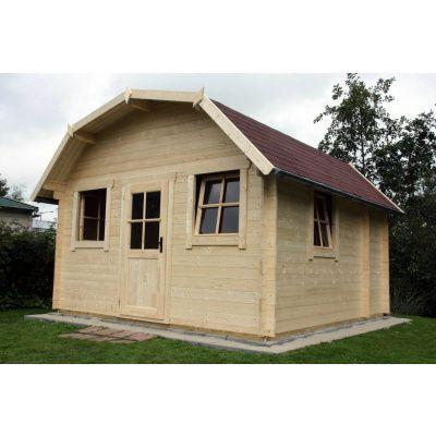 Bild 13 von Azalp Blockhaus Yorkshire 550x550 cm, 45 mm