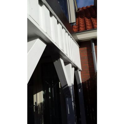 Bild 24 von Azalp Terrassenüberdachung Holz 600x250 cm