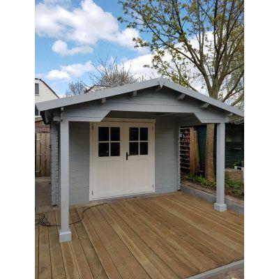 Bild 6 von Azalp Blockhaus Tim 596x400 cm, 45 mm