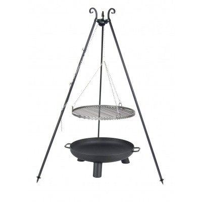 Hoofdafbeelding van Farmcook Swing Grill Viking ø 70 cm + Vuurschaal Pan37 80 cm