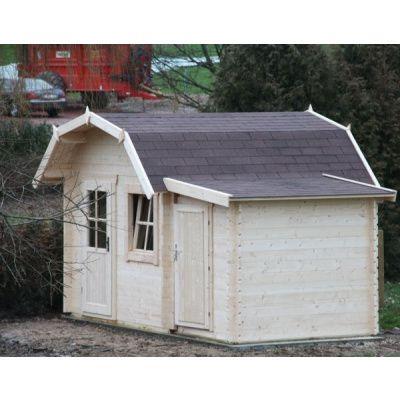 Bild 15 von Azalp Blockhaus Kent 350x400 cm, 30 mm