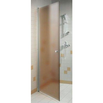 Hoofdafbeelding van Hot Orange Douchedeur 90x200 cm, mat brons 6 mm