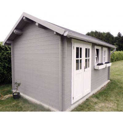 Bild 10 von Azalp Blockhaus Lynn 450x400 cm, 45 mm