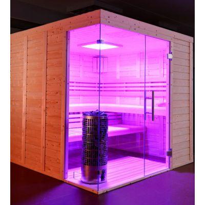Afbeelding 6 van Azalp Sauna Luja 200x210 cm, 45 mm