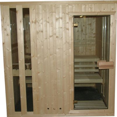 Afbeelding 3 van Azalp massieve sauna Alku 194x106 cm, 40 mm