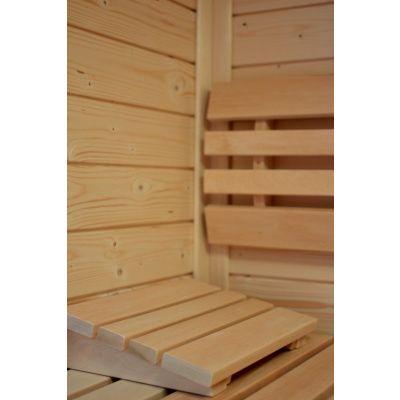 Afbeelding 4 van Azalp Sauna Luja 230x230 cm, 45 mm