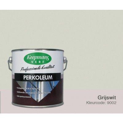 Hoofdafbeelding van Koopmans Perkoleum, Grijswit Ral 9002, 2,5L zijdeglans (O)