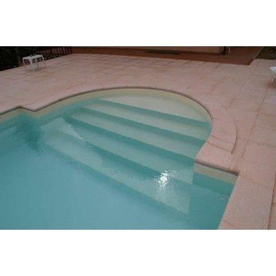 Afbeelding 6 van Trend Pool Boordstenen Ibiza 420 wit (complete set rond)