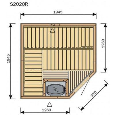 Afbeelding 8 van Harvia Sauna Variant Line S2020R