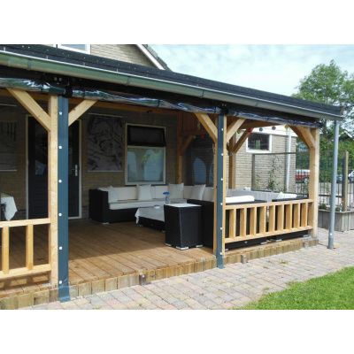 Afbeelding 17 van Azalp Houten veranda 500x400 cm