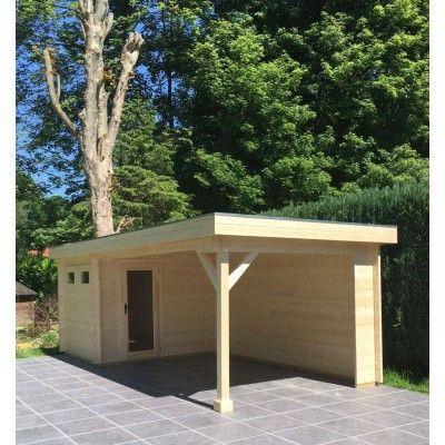 Bild 4 von Azalp Blockhaus Edith 500x300 cm, 45 mm