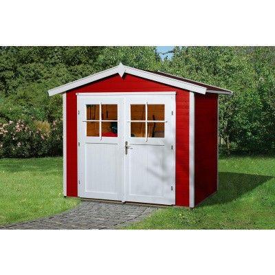 Hoofdafbeelding van Weka Tuinhuis 224 Gr. 2 Zweeds rood