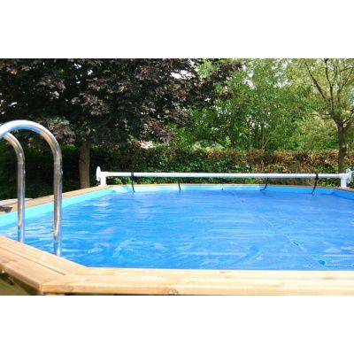 Afbeelding 3 van Ubbink zomerzeil voor Azura 410 cm (6-hoekig) rond zwembad