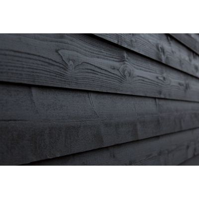 Afbeelding 2 van WoodAcademy Nobility Nero Tuinhuis 580x300 cm