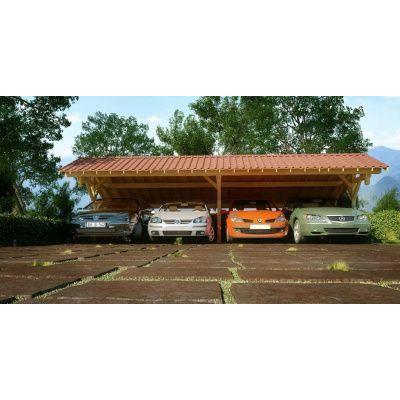 Afbeelding 41 van Azalp Royal Class Carport Varik 395x602 cm