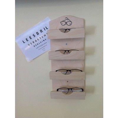Afbeelding 2 van Hot Orange Brillenhouder voor 4 Brillen