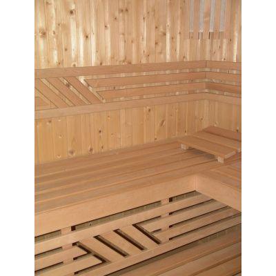 Afbeelding 16 van Azalp Saunabank recht, Elzen breedte 50 cm