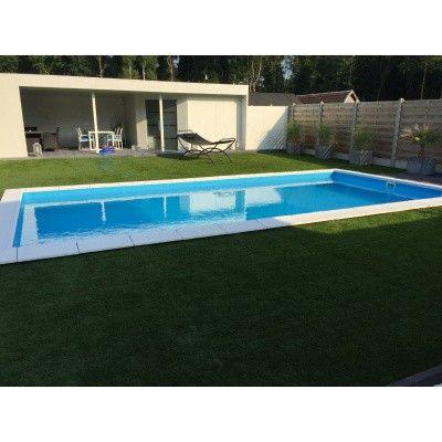 Afbeelding 16 van Trend Pool Polystyreen liner zwembad 800 x 400 x 150 cm (starter set)