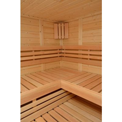 Afbeelding 12 van Azalp Sauna Luja 180x180 cm, 45 mm
