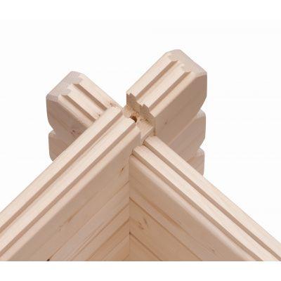 Afbeelding 6 van Woodfeeling Meldorf 5 met veranda 180 cm (91754)
