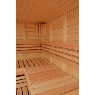 Afbeelding 11 van Azalp Sauna Luja 230x230 cm, 45 mm