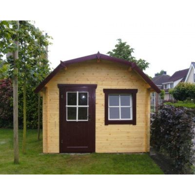 Bild 35 von Azalp Blockhaus Kent 400x350 cm, 45 mm