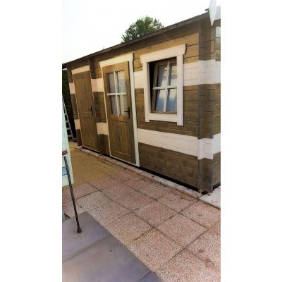 Bild 15 von Azalp Blockhaus Mona 400x250 cm, 30 mm