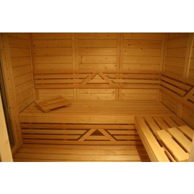Afbeelding 21 van Azalp Saunabank recht, Elzen breedte 70 cm