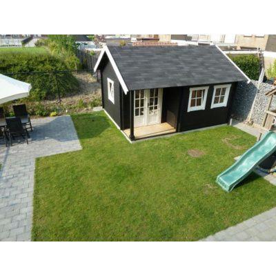 Afbeelding 62 van Azalp CLASSIC blokhut Cottage Style Cumberland 520x430 cm, 45 mm