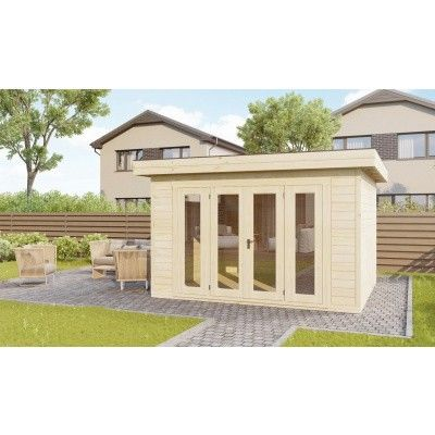 Bild 2 von SmartShed Blockhaus Zenon 400x300 cm, 45 mm