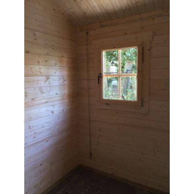 Bild 9 von Azalp Blockhaus Lynn 450x450 cm, 30 mm