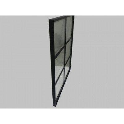 Afbeelding 3 van Azalp Stalen raam vast, 1000x1200 mm
