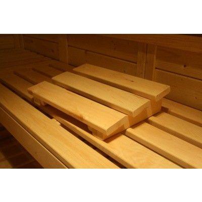 Afbeelding 38 van Azalp Massieve sauna Genio 240x180 cm, 45 mm