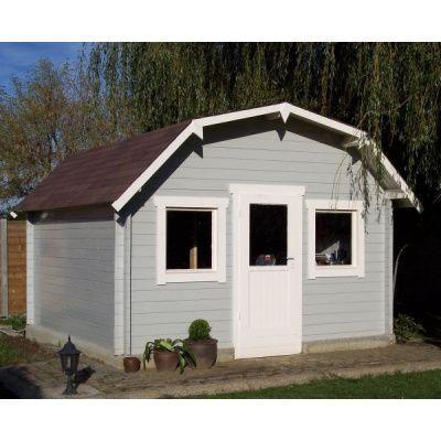 Bild 4 von Azalp Blockhaus Yorkshire 350x350 cm, 45 mm