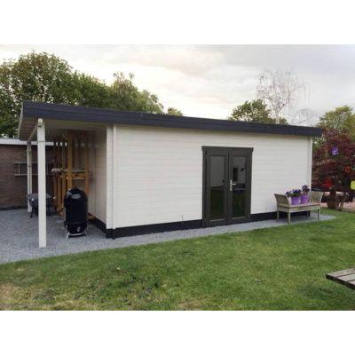 Bild 45 von Azalp Blockhaus Sven 400x400 cm, 30 mm
