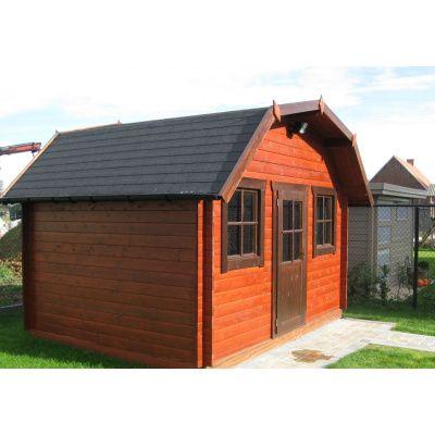 Bild 6 von Azalp Blockhaus Yorkshire 350x350 cm, 45 mm