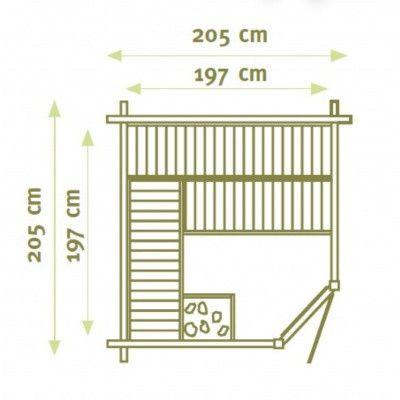 Bild 2 von Interflex Sauna MS 1 Eck