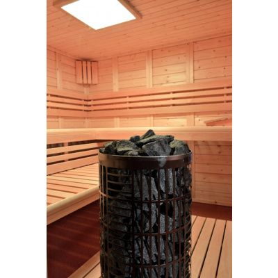 Afbeelding 15 van Azalp Sauna Luja 230x250 cm, 45 mm